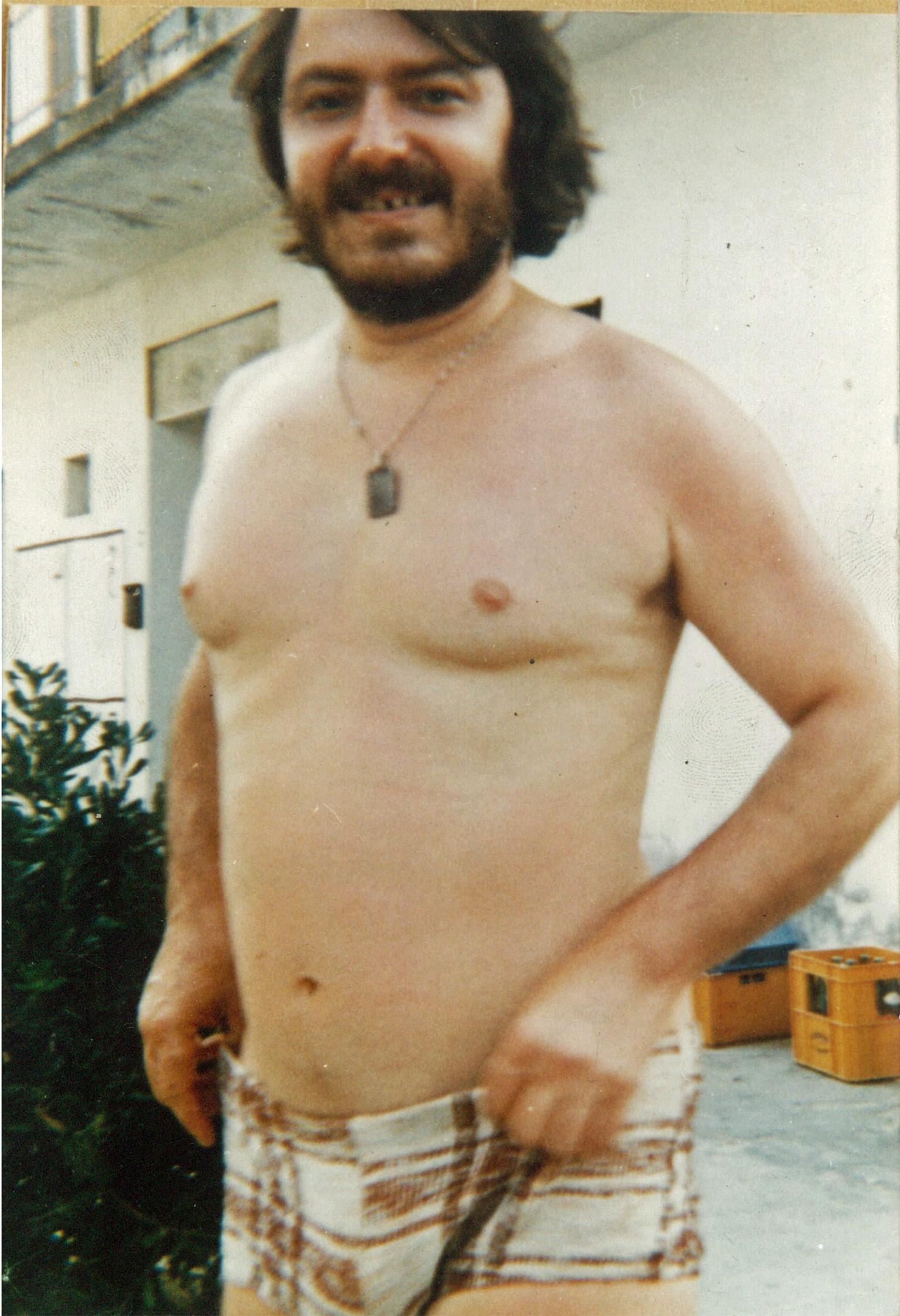 Giorgio Guainazzi a 39 anni